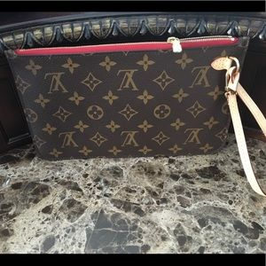 Authentic Louis Vuitton Wristlet / pouch